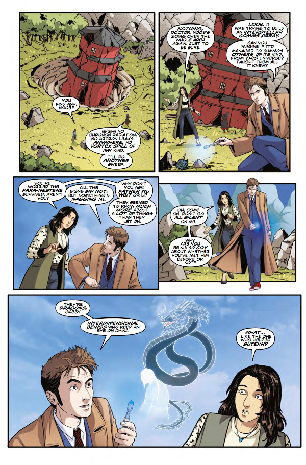Doctor Who The Tenth Doctor Year Three #6