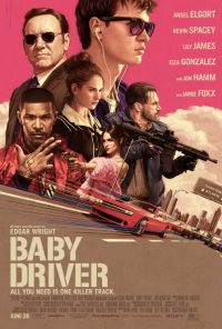 baby driver review poster