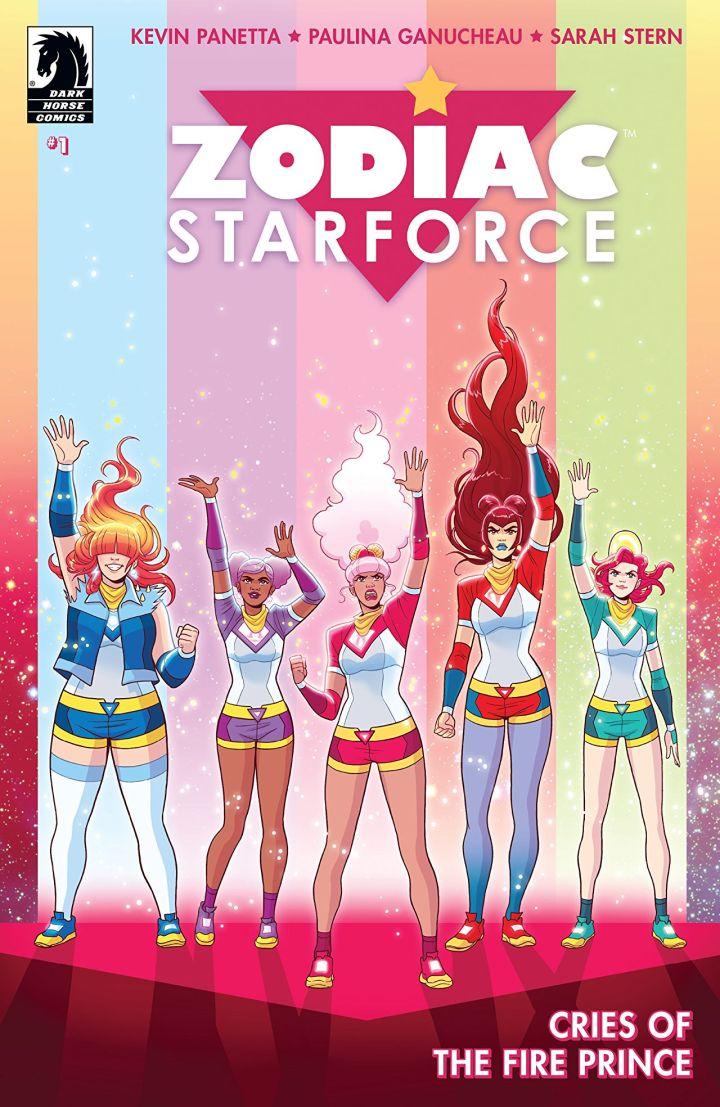 zodiac starforce cries of the fire prince 1 cvr