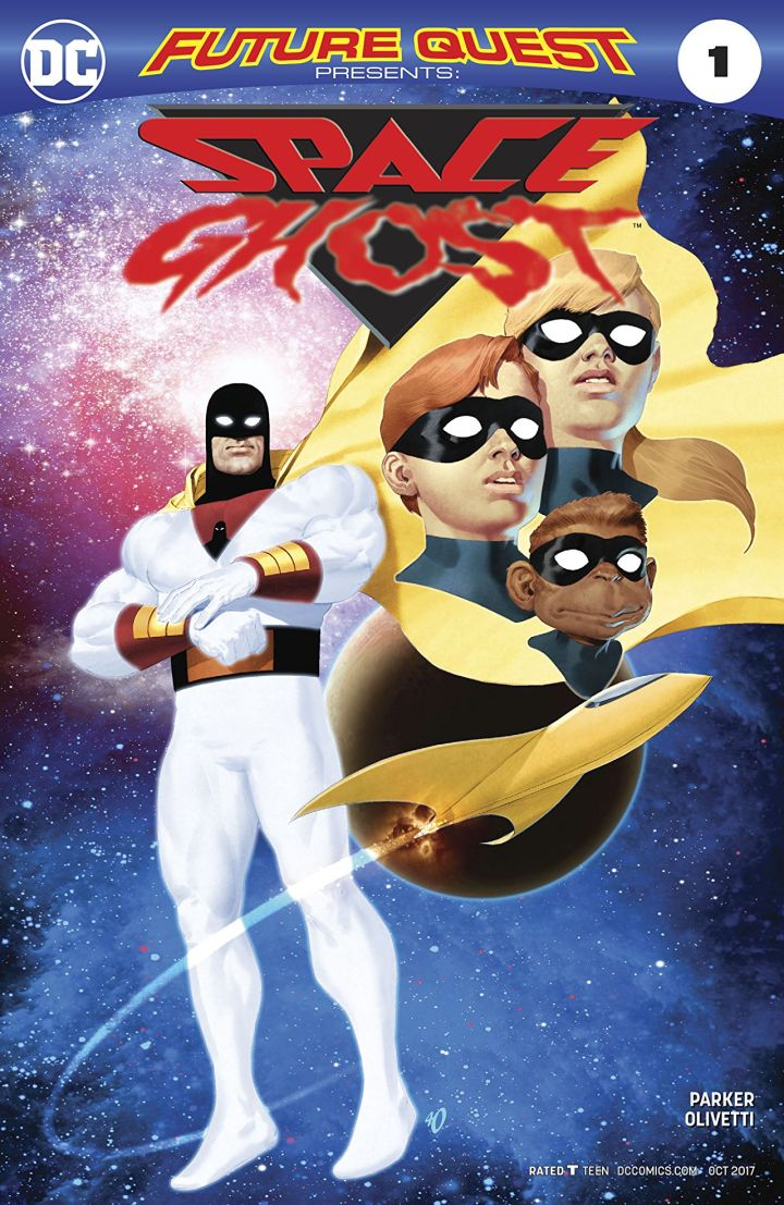 future quest presents 1 cvr