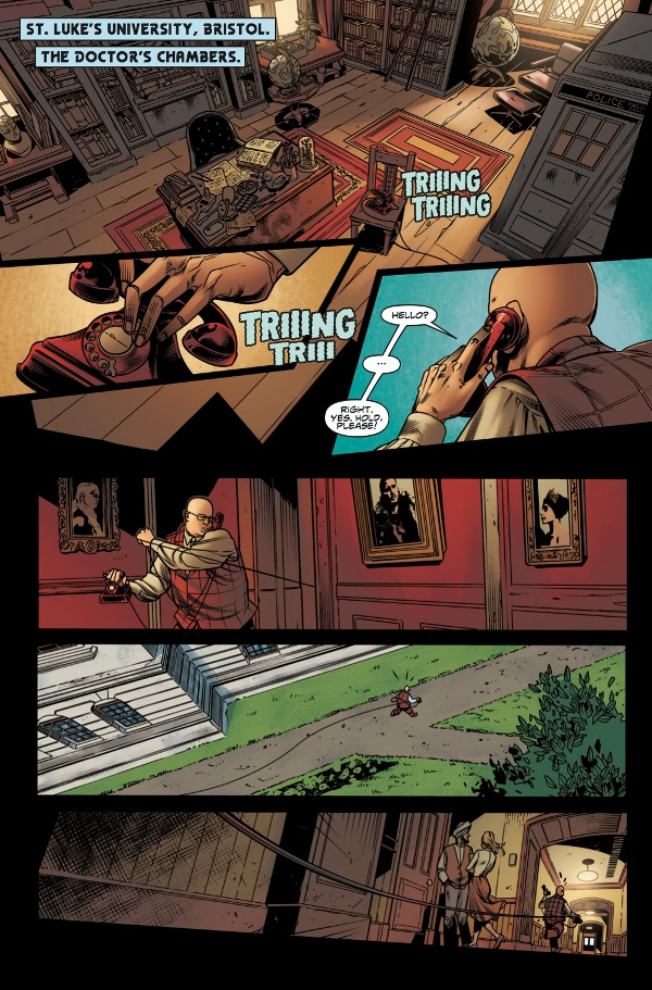 Doctor Who: The Lost Dimension - Alpha Page 5
