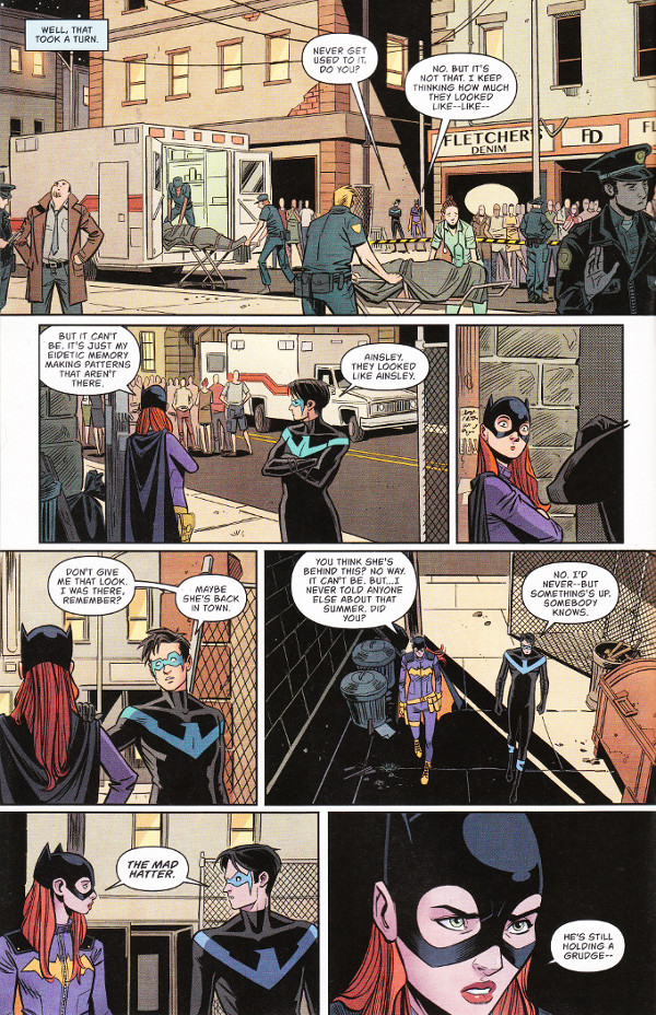 Batgirl #14 Page 1