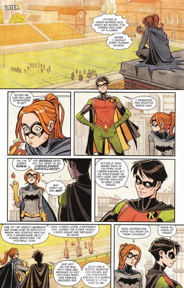 Batgirl #14 Page 2