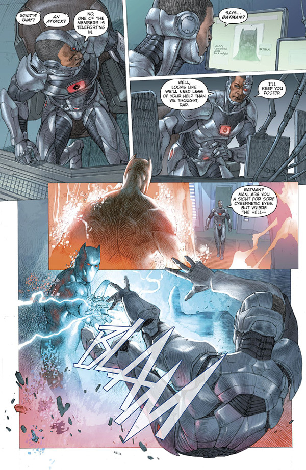 Batman: The Murder Machine #1 Page 1