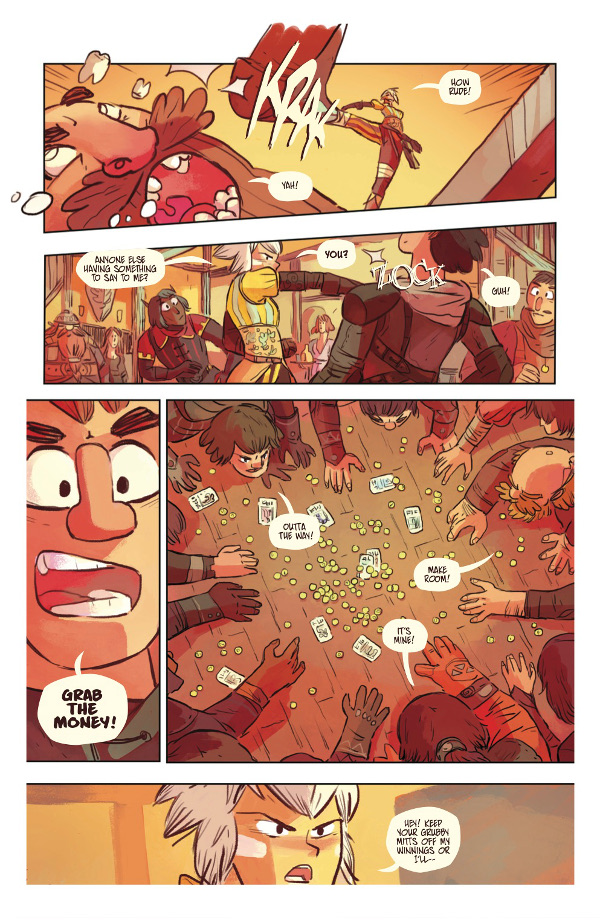Scales & Scoundrels #1 Page 4