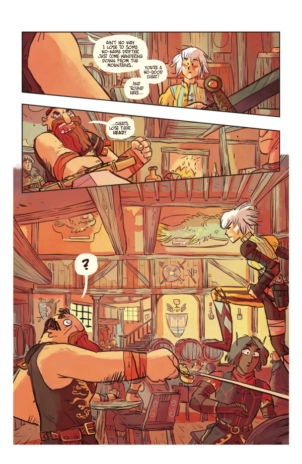 Scales & Scoundrels #1 Page 3