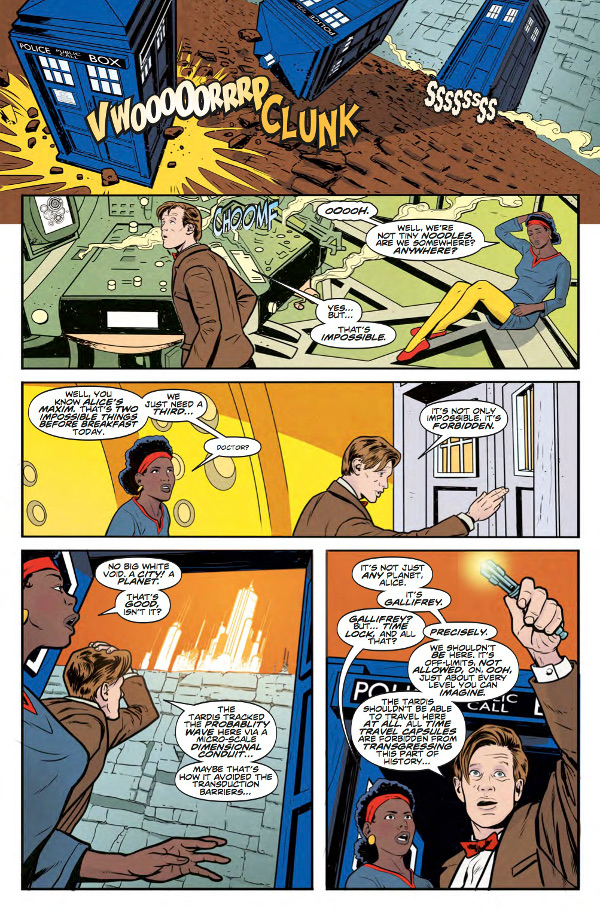 Doctor Who: The Eleventh Doctor: Year Three #10 Page 3