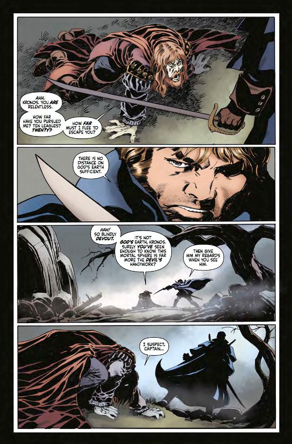 Hammer Comics: Captain Kronos #1 Page 3