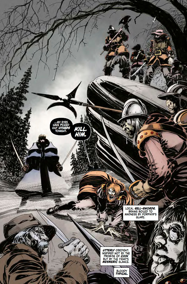 Hammer Comics: Captain Kronos #1 Page 5