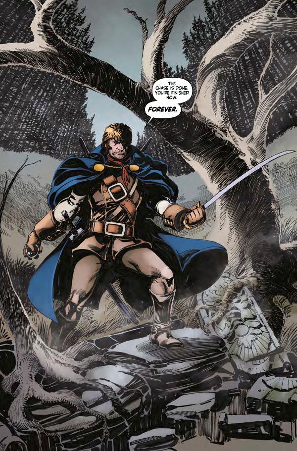 Hammer Comics: Captain Kronos #1 Page 2