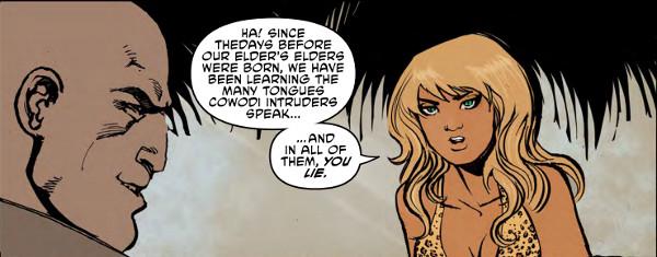 Sheena #1 Page 3