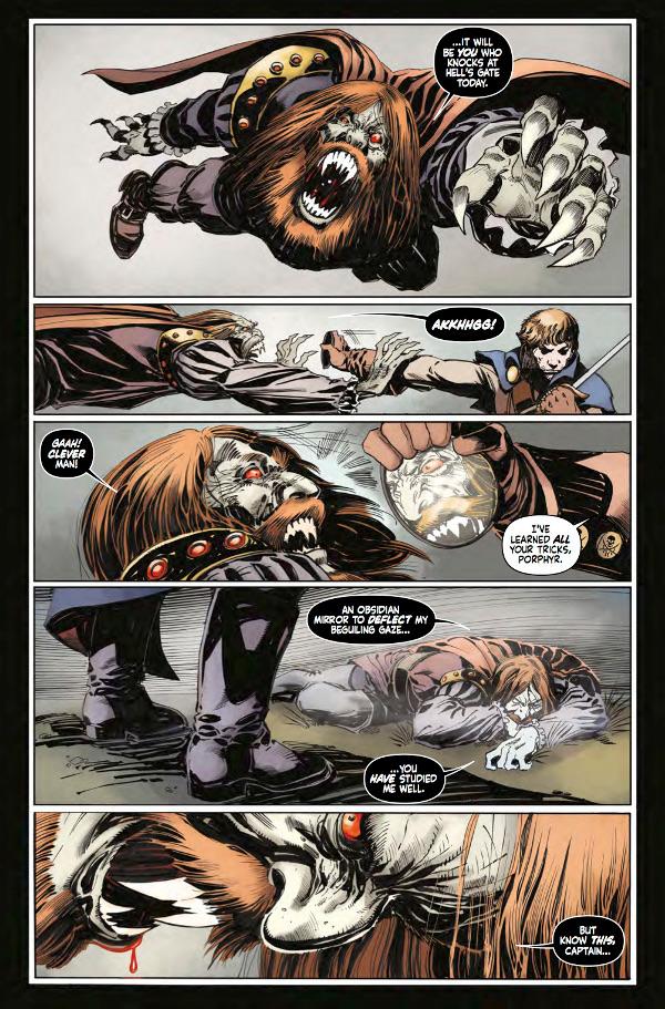 Hammer Comics: Captain Kronos #1 Page 4