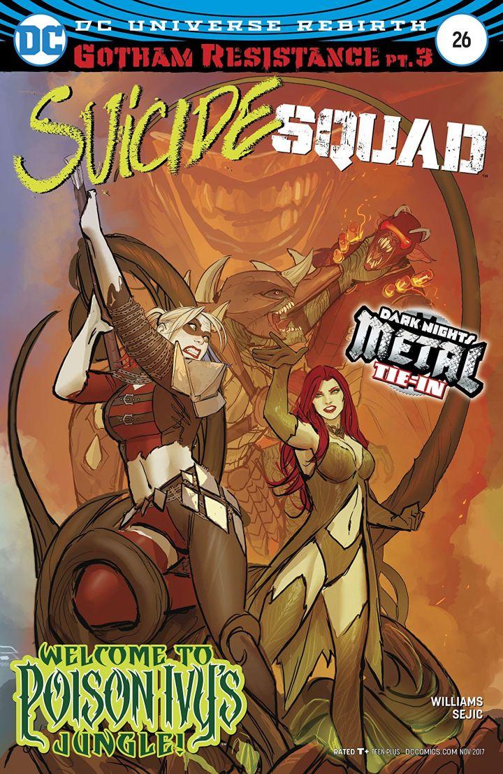 Suicide Squad 26 Cover