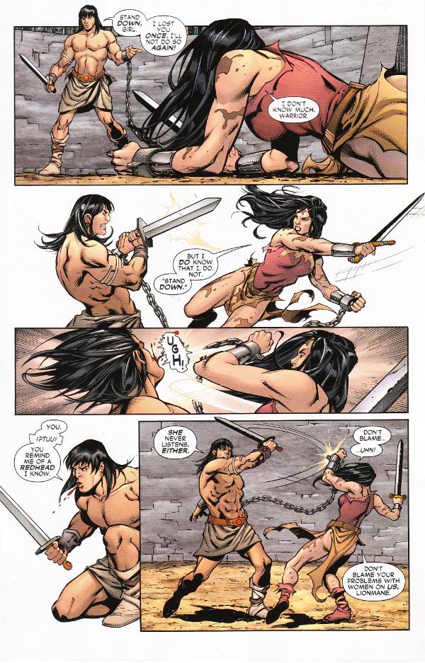 Wonder Woman/Conan #2 Page 2