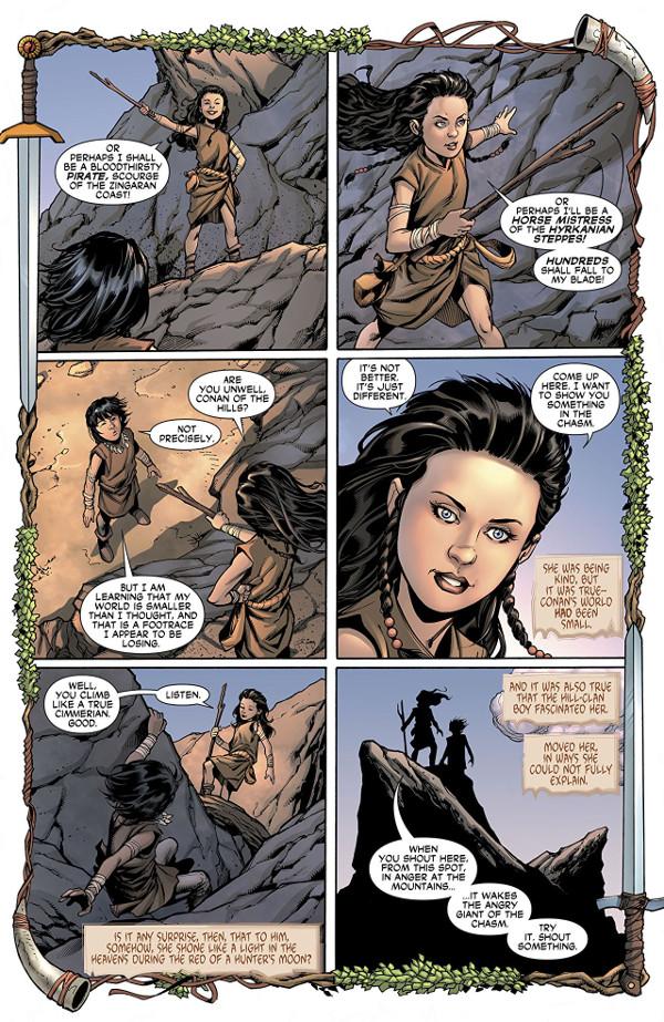 Wonder Woman/Conan #2 Page 1
