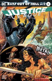 justice league 32 cvr