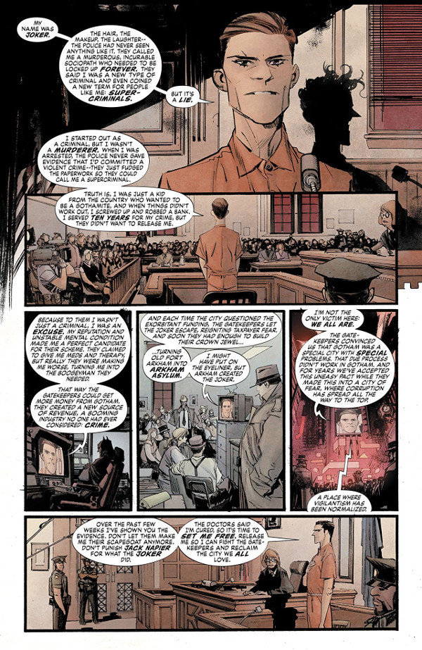 Batman: White Knight #2 Page 1