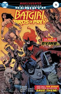 batgirl and the birds of prey 16 cvr