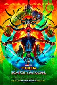 thor ragnarok review poster