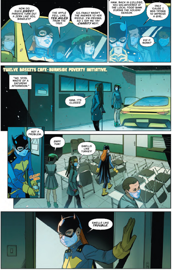 Batgirl #18 Page 2
