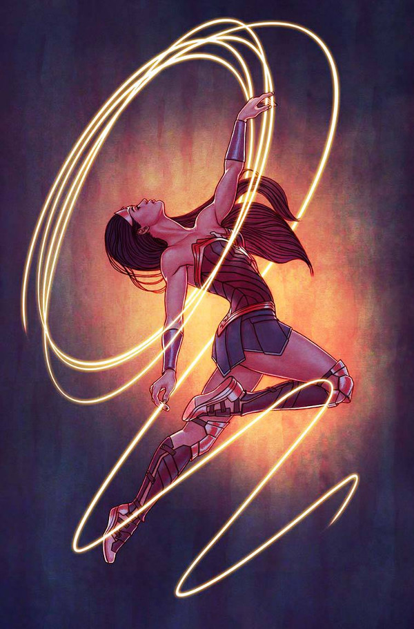 Wonder Woman 23 Variant By Jenny Frison