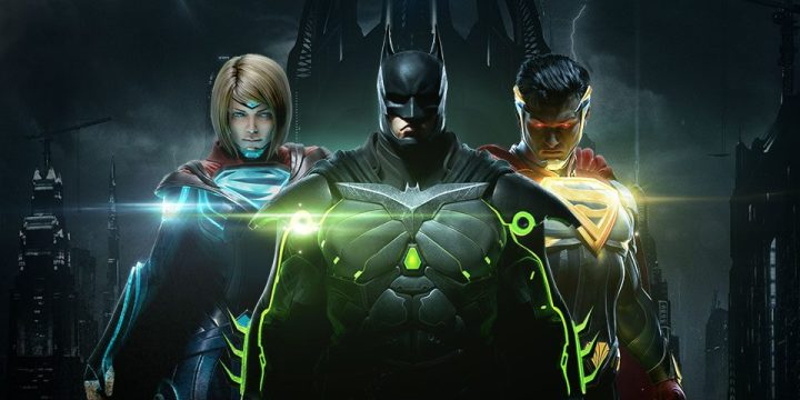Injustice 2 Title screen