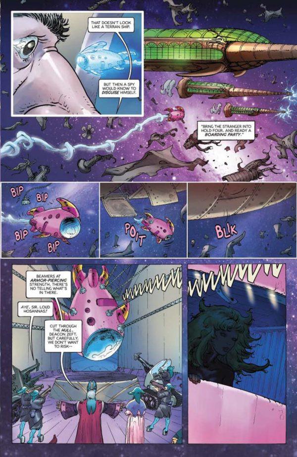 Barbarella #1 Page 3