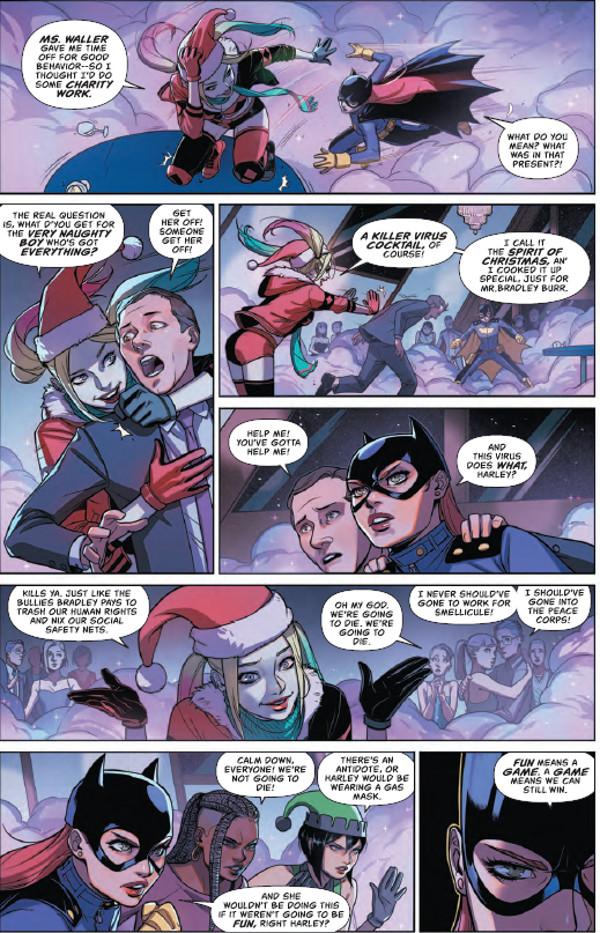 Batgirl #18 Page 1
