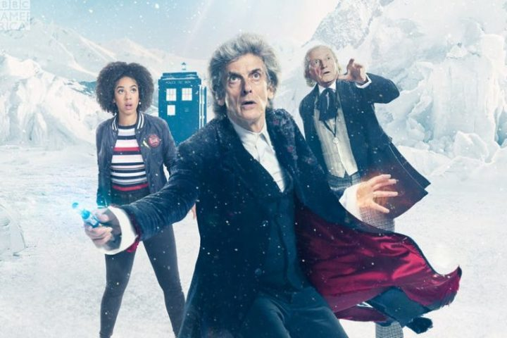 Doctor Who Twice Upon A Time Bill, Twelfth Doctor and First Doctor