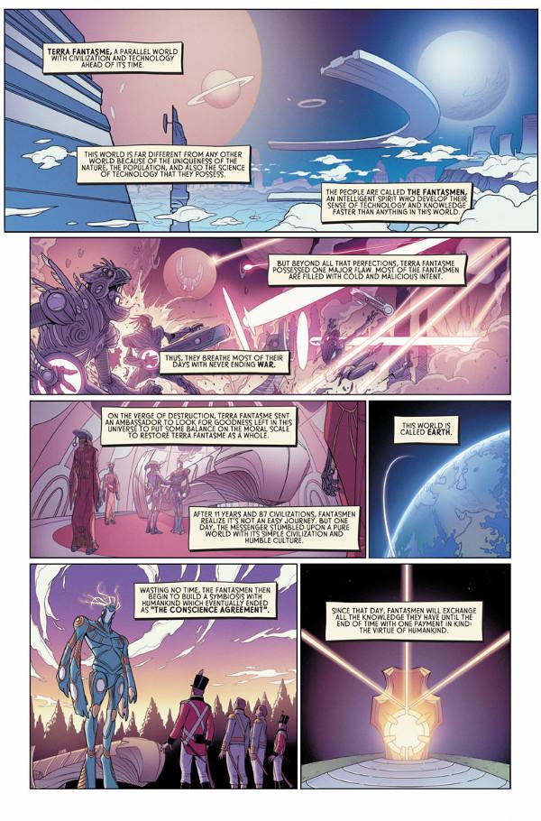 Dissonance #1 Page 1