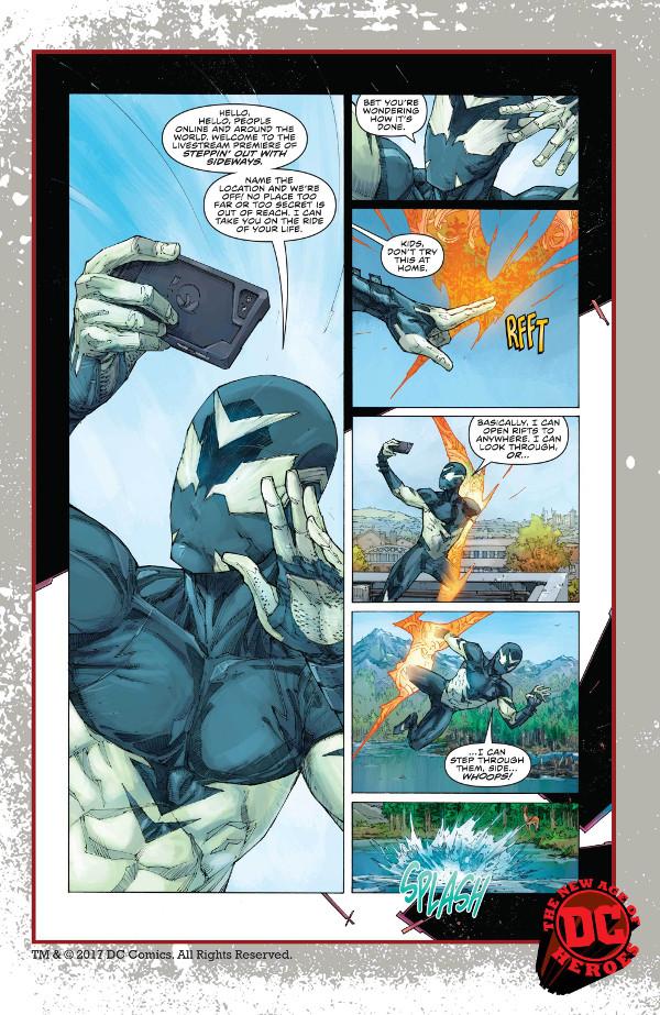 Sideways #1 Page 1