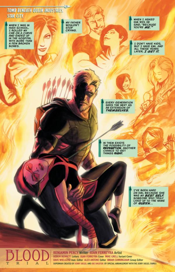 Green Arrow #37 Page 1
