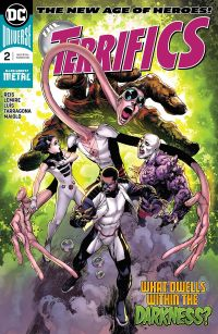 The Terrifics 2 Cover