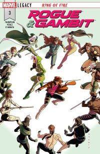 Rogue and Gambit #3 Cover