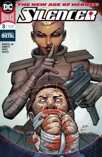 The Silencer #3 Cover
