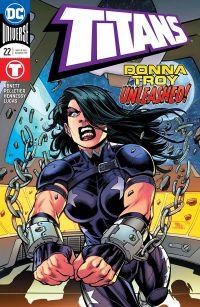Titans #22 Cover