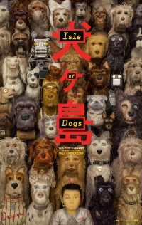 isle of dogs review poster