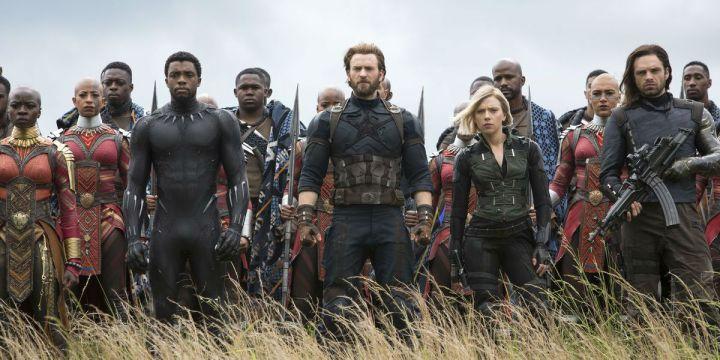 infinity war wakanda black panther okoye captain america black widow bucky