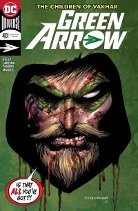 Green Arrow #40 Cover