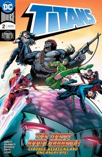 Titans Annual 2 Cover