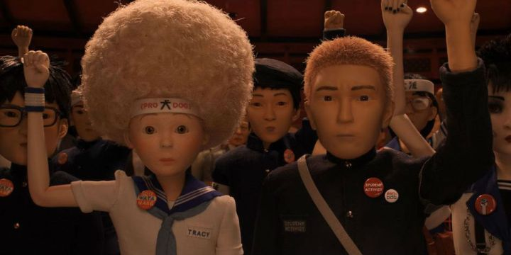 isle of dogs review tracy walker white savior