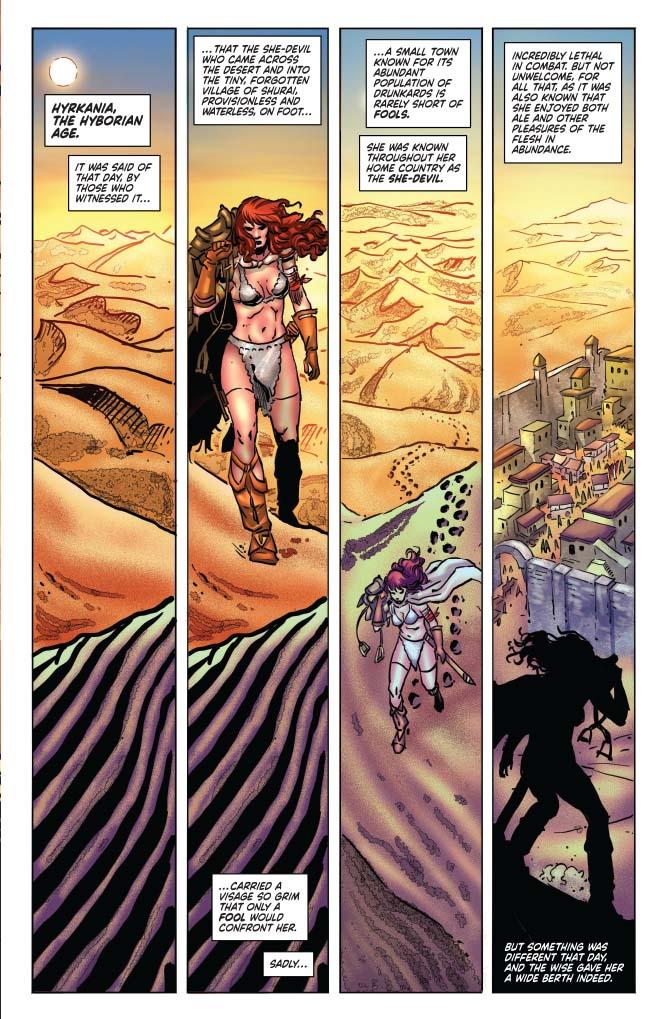 Red Sonja Tarzan #1 Page 5