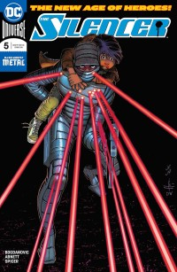 The Silencer #5 Cover