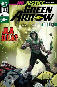 Green Arrow Annual #2 Cover