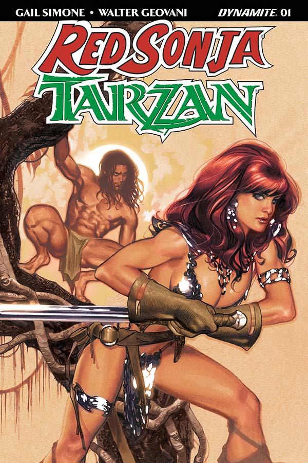 Red Sonja Tarzan #1 Cover