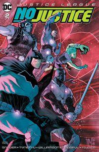Justice League No Justice #2 Cover