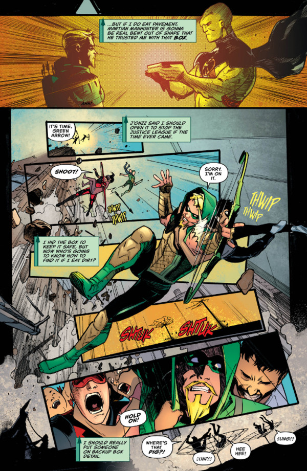 Green Arrow #43 Page 5