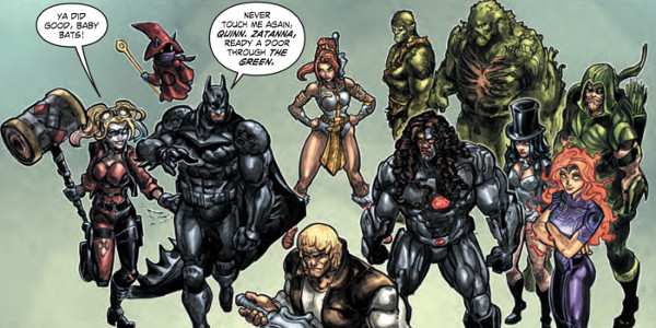 Injustice Vs. Masters Of The Universe Heroes Assembled