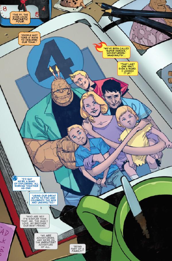 Fantastic Four #1 Page 1