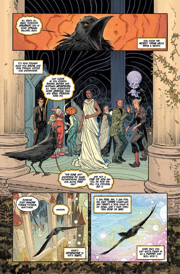 Sandman Universe 1 Page 6